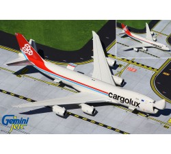 盧森堡國際貨運航空 Cargolux Airlines International Boeing 747-8F 1:400