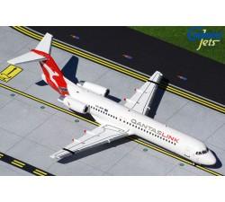 澳洲連接航空 Qantaslink Fokker F-100 1:200