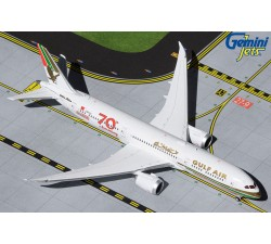 "Gulf Air Boeing 787-9 ""70th Anniversary"" (retro livery) 1:400"