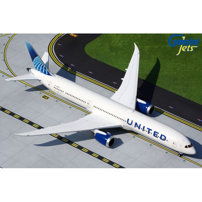 United Airlines Boeing 787-10 1:200