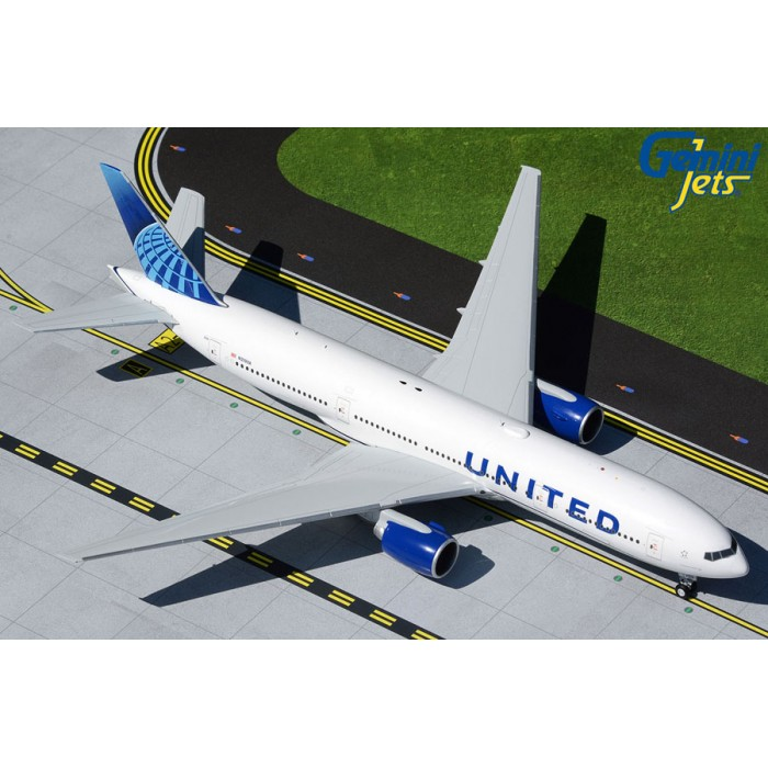 United Airlines Boeing 777-200 1:200