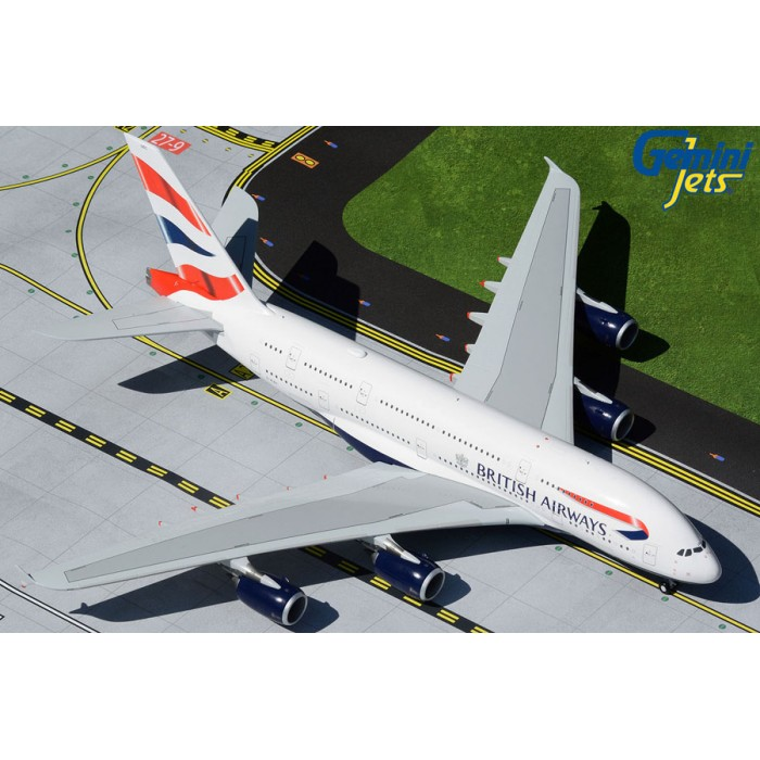 British Airways Airbus A380-800 1:200