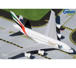 阿聯酋航空 Emirates Airbus A380-800 太空彩繪機 1:400