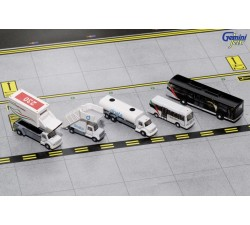 1:200 Emirates Ground Equipment #1 (with buses) - Modelshop
