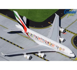 Emirates Airbus A380-800 'Year of Tolerance' 1:400