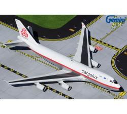 Cargolux Airlines International Boeing 747-400ERF 'Retro Livery' 1:400
