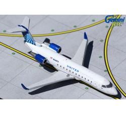 United Express Bombardier CRJ-200LR 1:400