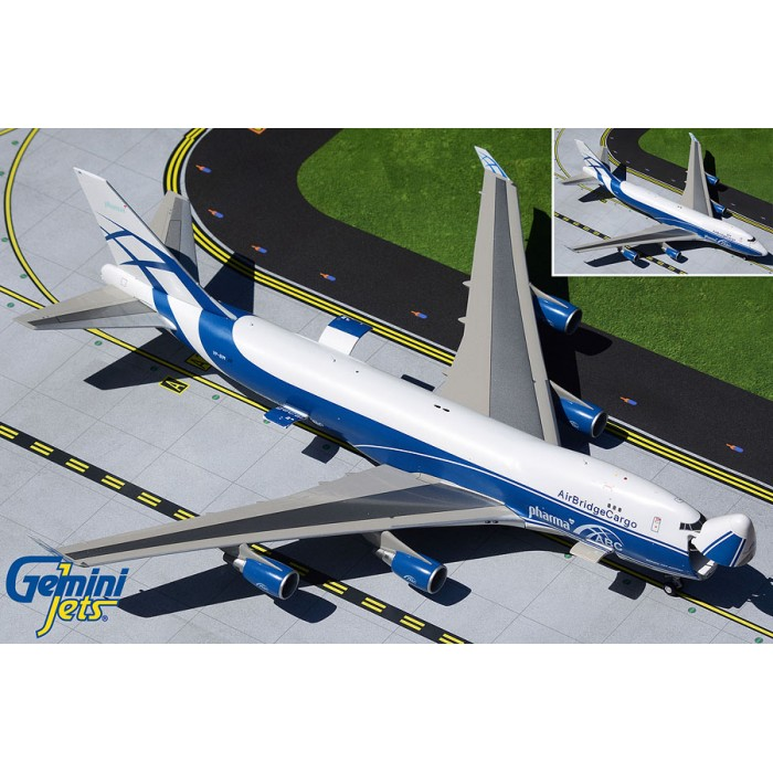 AirBridgeCargo Airlines Boeing 747-400ERF 'Interactive Series' 1:200