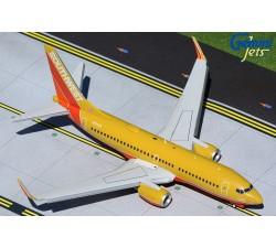 西南航空 Southwest Airline Boeing 737-700 '經典復刻塗裝' (Flaps-down version) 1:200