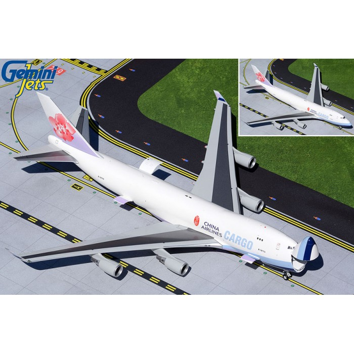 China Airlines Boeing 747-400F 'Interactive Series' 1:200
