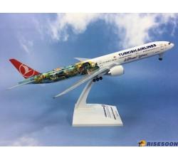 Turkish Airlines Boeing B777-300 1:200 - Modelshop