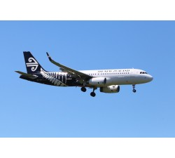Poster - Air New Zealand A320 Silver Fern - Modelshop