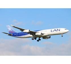 Poster - LAN A340-300 CC-CQF - Modelshop