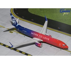 "阿拉斯加航空 Alaska Airlines Boeing B737-900(S) ""More to Love"" 1:200 - modelshop"