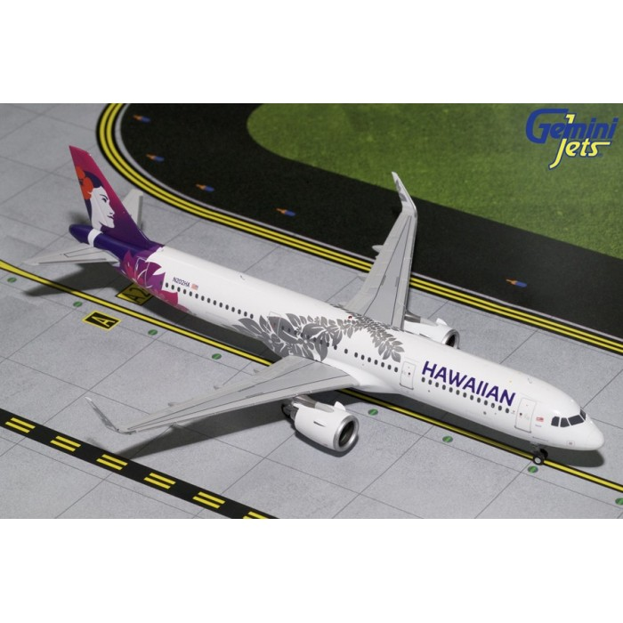 Hawaiian Airlines Airbus A321neo '2017 Livery' 1:200