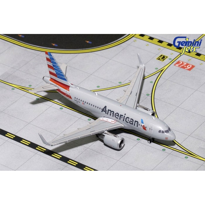 American Airlines Airbus A319 Sharklets 1:400