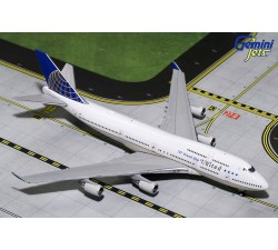 "United Airlines Boeing B747-400 ""747 Friendship"" 1:400 - modelshop"