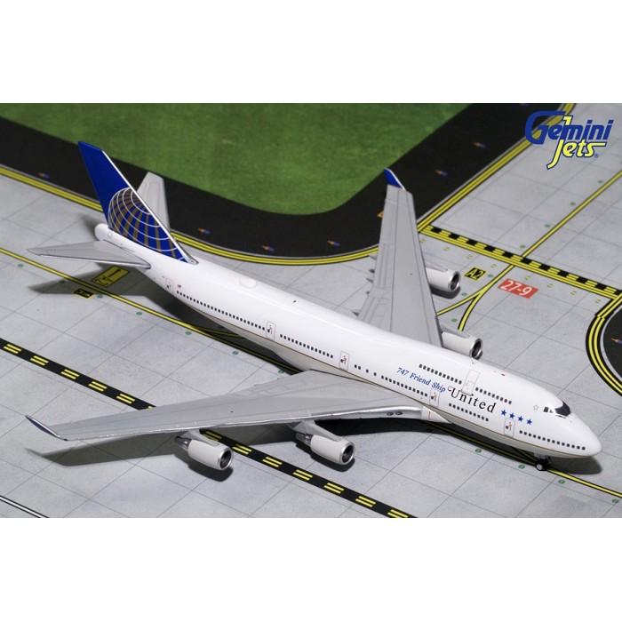 "United Airlines Boeing 747-400 ""747 Friendship"" 1:400"