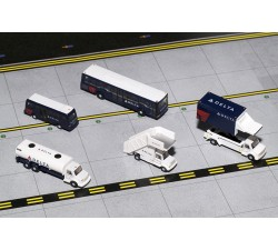 1:200 達美航空地勤車輛 Delta Ground Trucks - modelshop