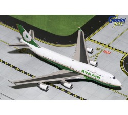 長榮航空 EVA Airways Boeing B747-400 1:400 - modelshop