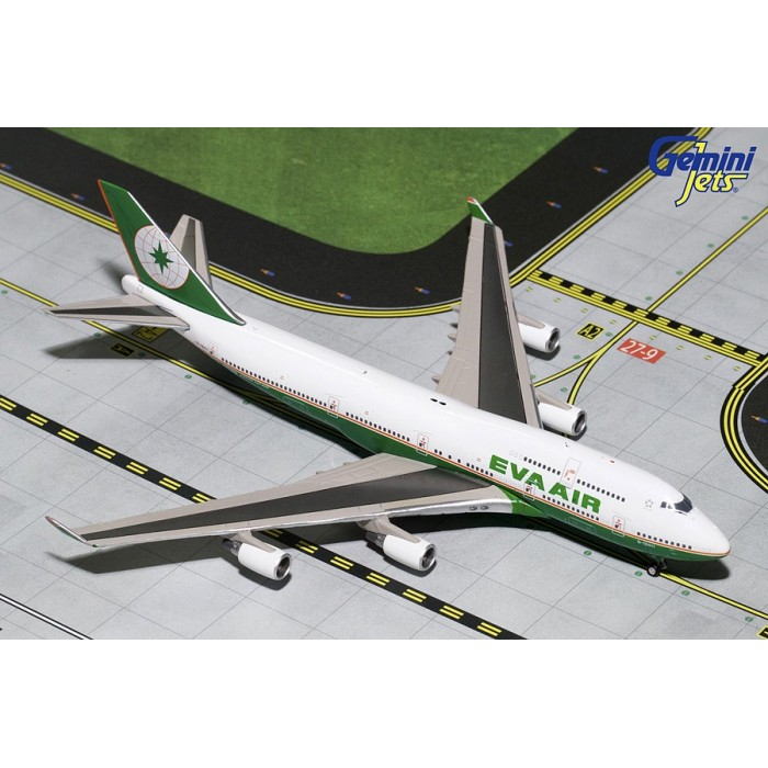 EVA Airways Boeing 747-400 'Final Flight' 1:400