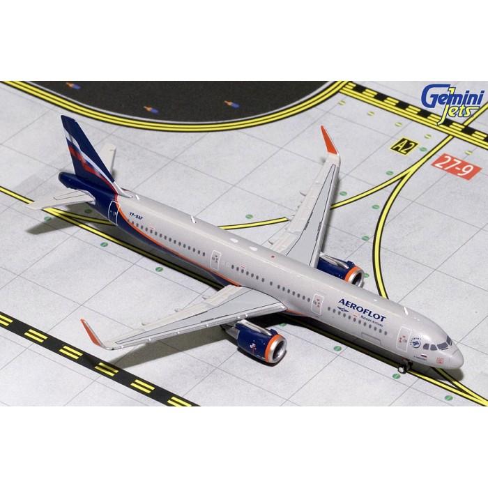 Aeroflot Airbus A321 Sharklets VP-BAF 1:400