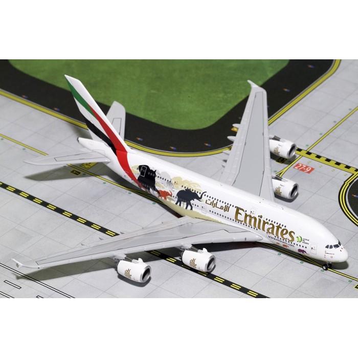 Emirates Wildlife 2 Airbus A380-800 1:400