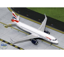 英國航空 British Airways Airbus A320neo 1:200