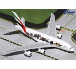 Emirates Wildlife 3 Airbus A380-800 1:400 -
