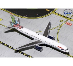 "英國航空 British Airways Boeing 757-200 ""Animal & Trees"" 1:400"