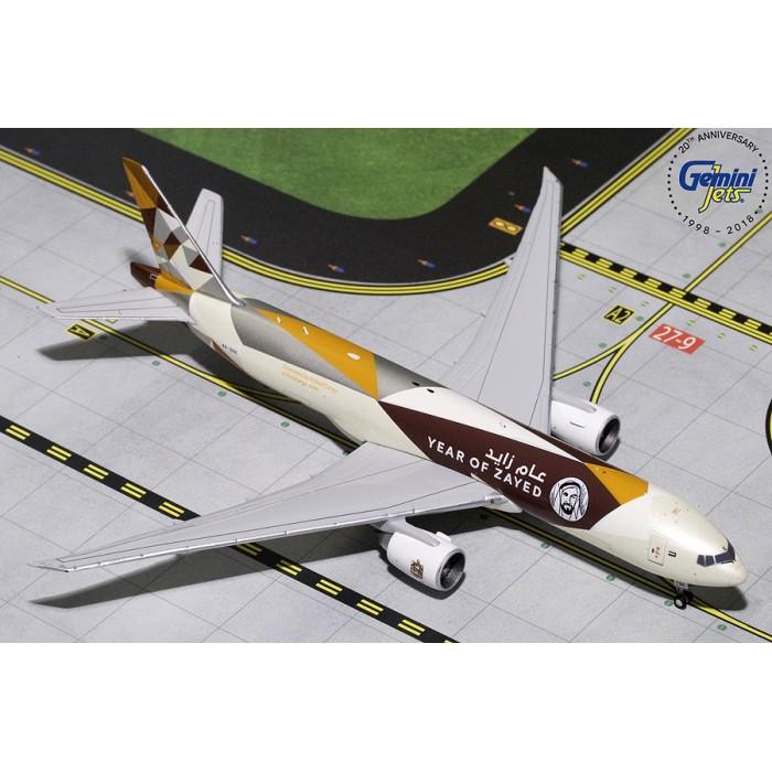 """Etihad Airways Cargo Boeing 777F """"Sheik Zayed"""" 1:400"""