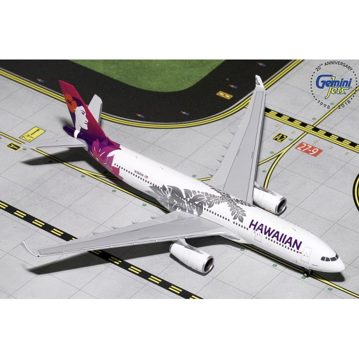 Hawaiian Airlines Airbus A330-200 'New Livery' 1:400