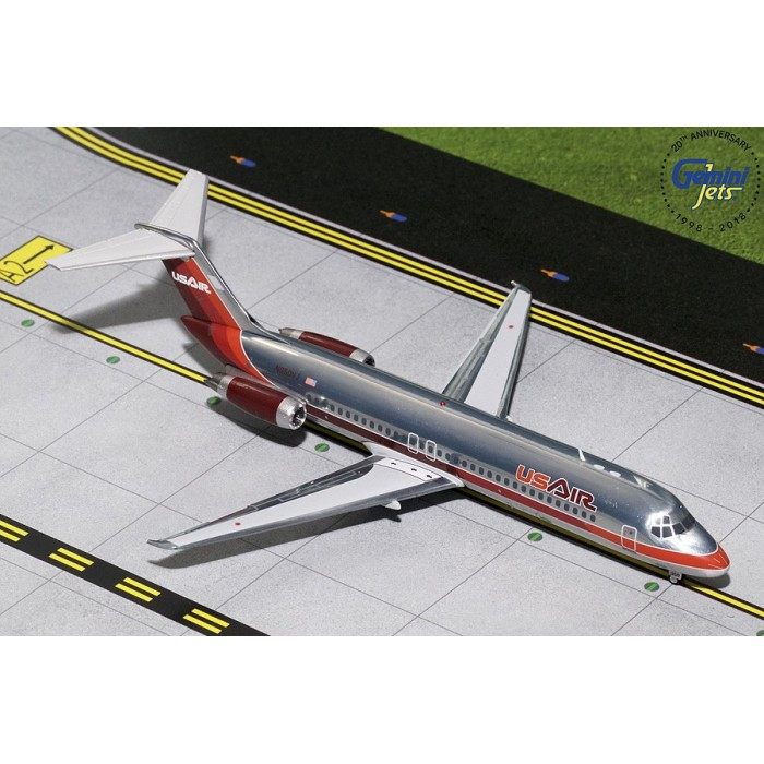 USAir DC-9-30 Maroon Livery 1:200
