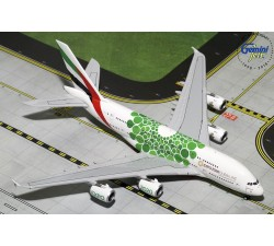 阿聯酋航空 Emirates Airbus A380-800 (Expo 2020,Green) 1:400