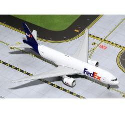 Fedex (w/Antennas, no stand) Boeing B777F 1:400 - Modelshop
