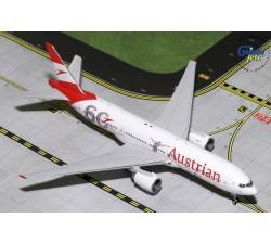 奧地利航空(漢莎航空) Austrian Airlines Boeing B777-200ER 六十週年彩繪機 1:400