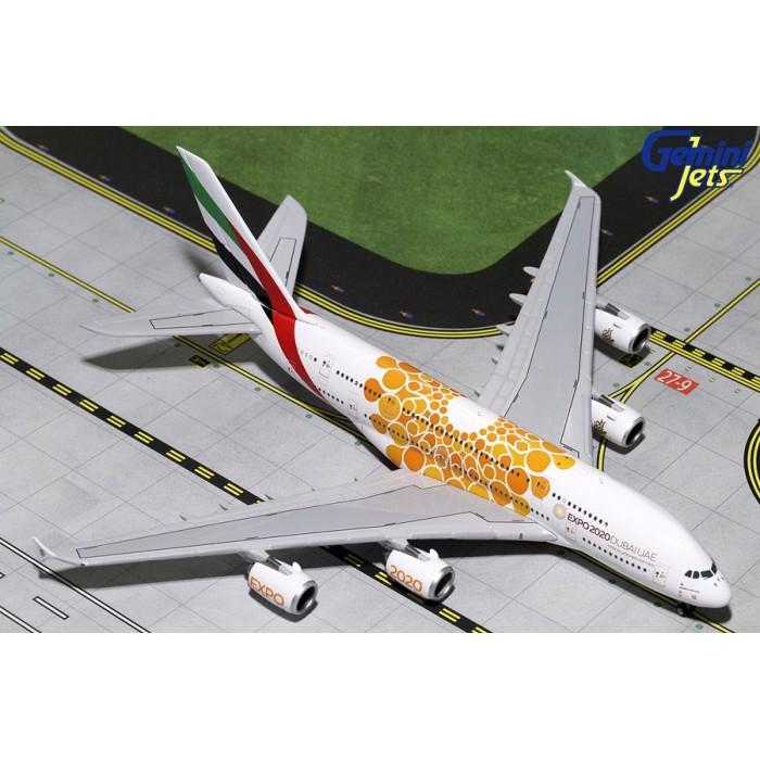 Emirates Airbus A380-800 (Expo 2020 Orange) 1:400