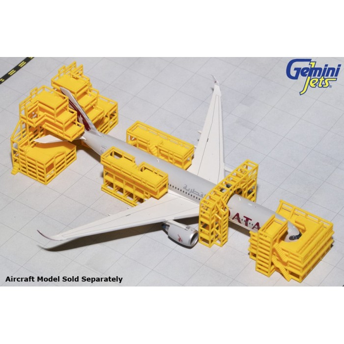 1:400 Aircraft Maintenance Scaffolding