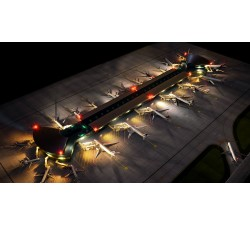 "Airport Terminal ""Double Rotunda"" 1:400"