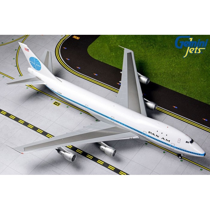 PAN AM Airway Boeing 747-100 'Delivery Livery' 1:200