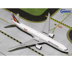"""Philippines Airlines """"75th Anniversary""""w/Tug Boeing B777-300ER 1:400 - Modelshop"""