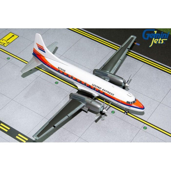 United Express Convair CV-580 1:200