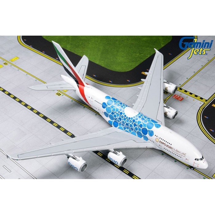 Emirates Airbus A380-800 (Expo 2020 Blue) 1:400