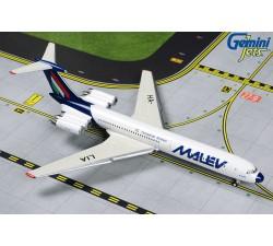 Malév Hungarian Airlines Ilyushin IL-62M 'Final livery' 1:400