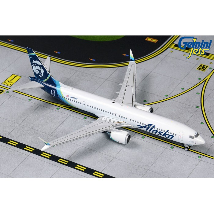 Alaska Airlines Boeing 737 MAX 9 1:400