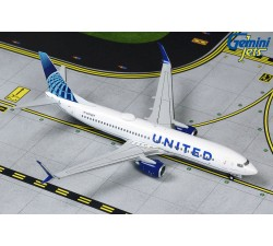 United Airlines Boeing 737-800S 'New Livery' 1:400