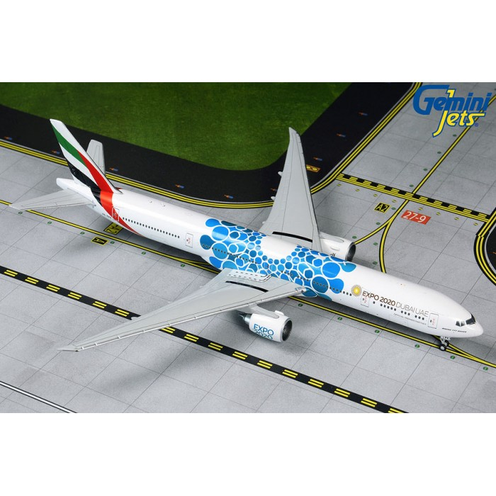 Emirates Boeing 777-300ER 'Blue Expo 2020' 1:400