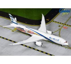 El Al Airlines Boeing 787-9 'Las Vegas/San Francisco livery' 1:400