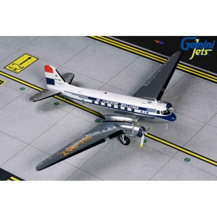 KLM Royal Dutch Airlines DC-3 '1950 livery' 1:200