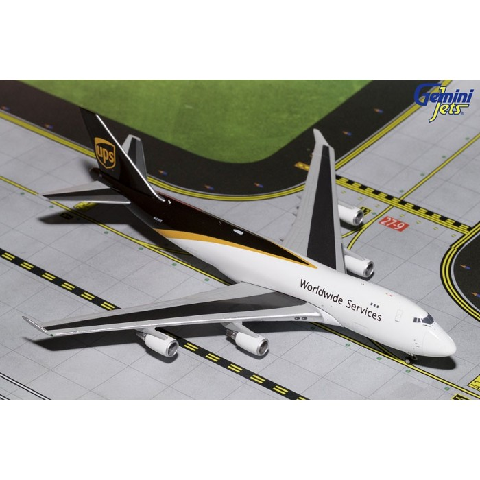 UPS Boeing 747-400F (New Livery) 1:400